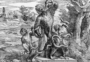 Titian's caricature of the Laocoon